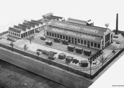 1924 Maqueta de los talleres