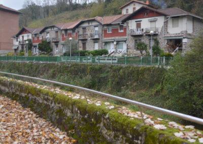 Viviendas de la papelera en Güeñes