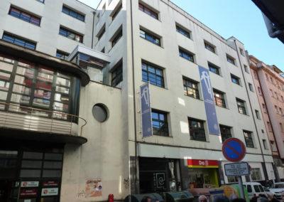 Exterior del edificio en la actualidad