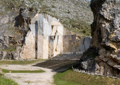 Cantera transformada en anfiteatro
