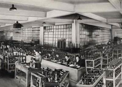 Interior de la fábrica de Eibar