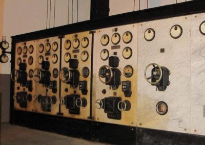 Cuadro de mandos de la Casa de máquinas
