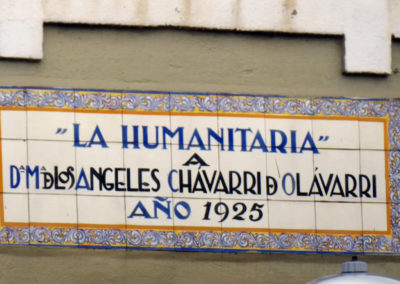 Detalle de los azulejos