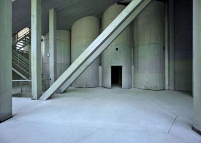 Detalle de los silos