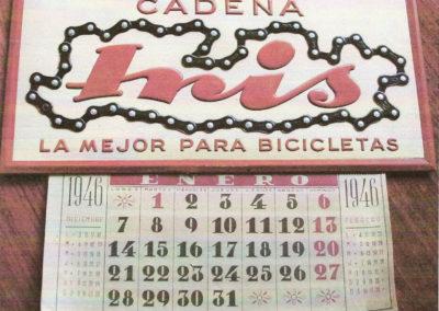 Calendario de 1946 editado por Iris