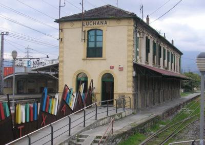 Estación de Lutxana