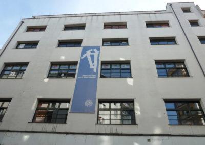 Exterior del actual museo de la Industria de Eibar