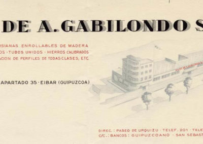 Membrete de la empresa (1951)