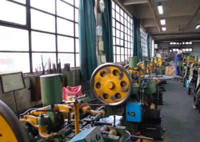 Vista del interior de la fábrica