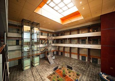 Interior de instalaciones con nuevos usos