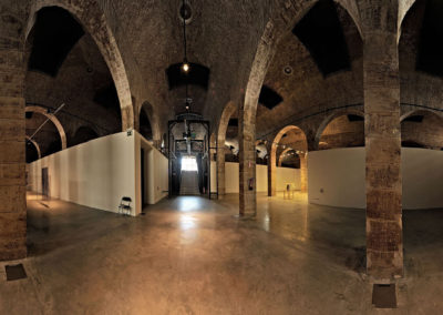 Interior del depósito
