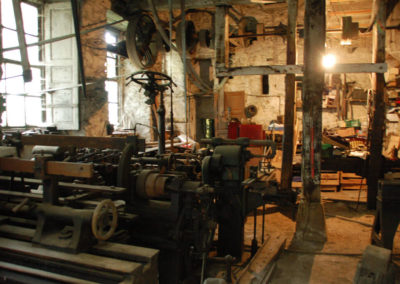 Vista general del taller