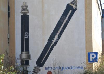 Mural en la fábrica