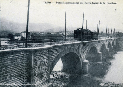 Puente de la Compañia del Ferrocarril de SS a la frontera