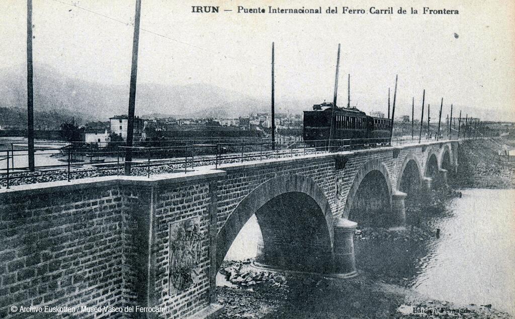 Compañía del Ferrocarril de San Sebastián a la Frontera-ren zubia