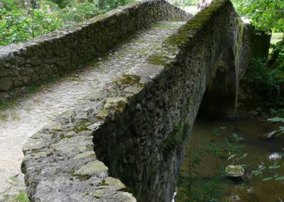 Puente alomado en Amoroto