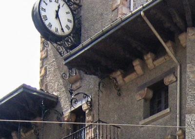 Reloj en la estación de Atxuri