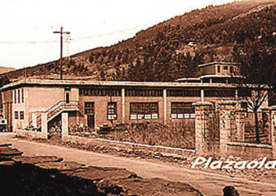 Imagen de la antigua fábrica Altube, Moyua y Elorza, origen de ULMA Forja