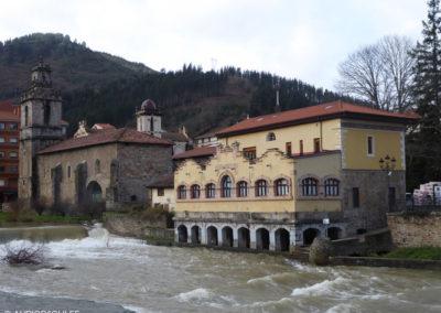 Vista desde el río Cadagua