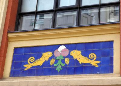 Decoración de azulejos