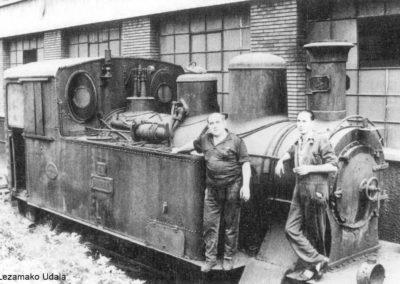 Locomotora en Derio